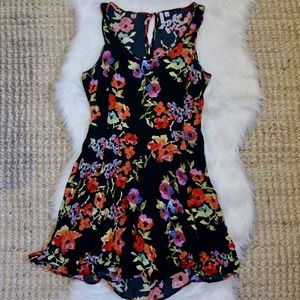 Frenchi floral print dress size L